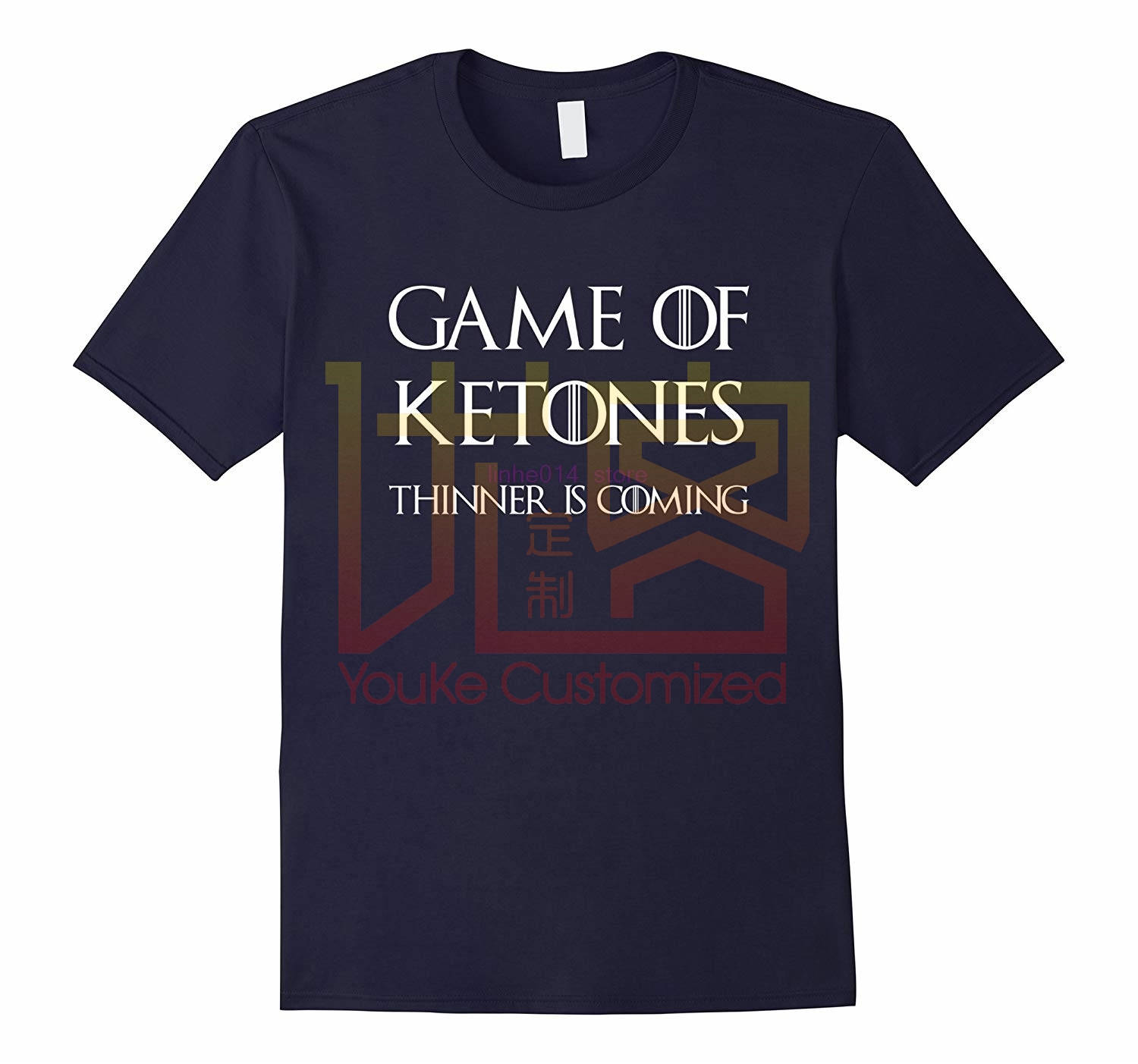 brand men shirt Game of Ketones T-shirt Tee Keto Diet shirt