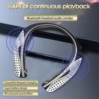 HX288 Drahtlose Bluetooth 5,0 Headset Hals-montiert Sport Lautsprecher Stereo Spiel Kopfhörer Stereo Surround Sound Ohrhörer