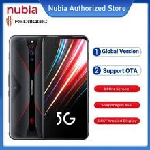 Versão global nubia redmagic 5g jogo smartphones 8/12gb 128gb 6.65