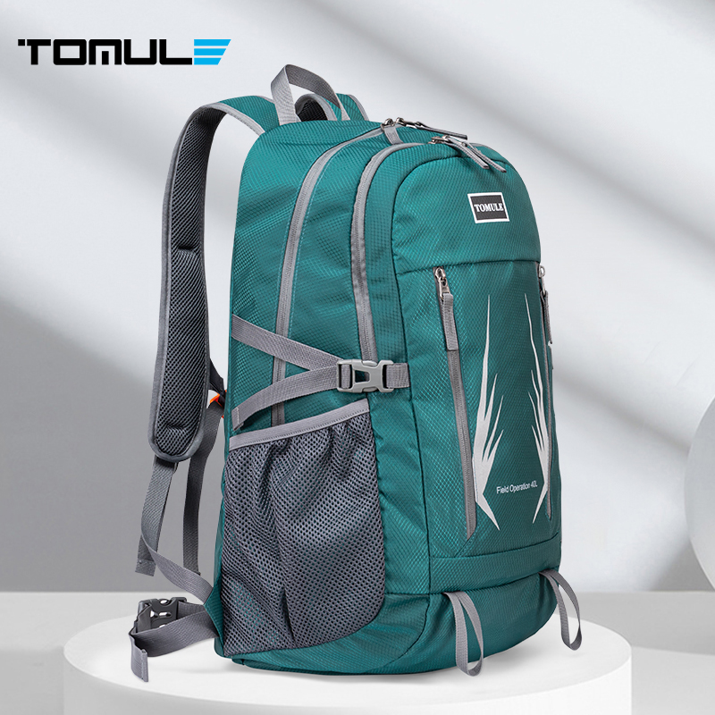 Tomule Waterproof Climbing Backpack Men Camping Hiking Backpack Breathable Travel Outdoor Sports Bag 40L Climbing Cycling bags