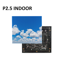 P2.5 full color led module 160x160mm 64x64 pixel rgb indoor led display panel 2.5mm led panel