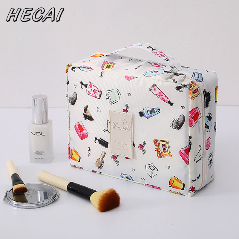 Travel Cosmetic Bag Neceser Men Women Portable Waterproof Wash Bag Toiletries Organizer Waterproof Female Storage Make Up Cases