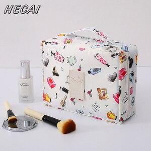 Travel Cosmetic Bag Neceser Men Women Po