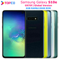 Мобильный телефон Samsung Galaxy S10e G970F, глобальная версия, LTE, на базе Android, Exynos 9820 восемь ядер, 5,8 дюйма, 16 МП и 12 МП, 6 ГБ ОЗУ 128 Гб ПЗУ, NFC