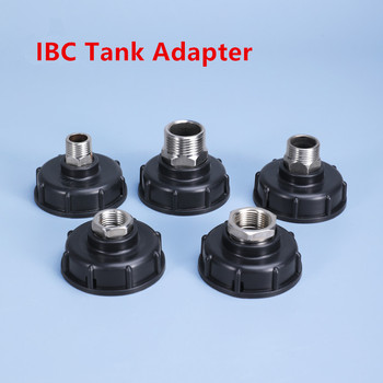 1000L IBC Tote Tank Drain Adapter 304 Stainless Steel Spout Fittings Replacement Home Garden Irrigation Switch tool