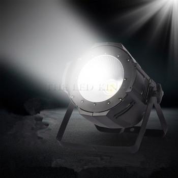 LED reflektor sceniczny Par 300W COB RGBW 4in 1 RGB 3in 1 ciepły biały zimny biały 2w1 UV LED Par Par64 reflektory Led światła dj-skie tanie i dobre opinie THEBSE CN (pochodzenie) Efekt oświetlenia scenicznego Oświetlenie sceniczne DMX Other 100-COBpar 90-240 V Profesjonalne stage dj