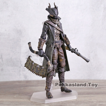 Bloodborne Figma 367 Hunter PVC Action Figure Collectible Model Toy 2