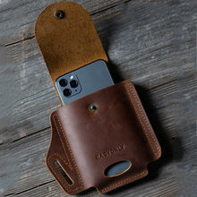 PU skórzany futerał na pasek etui na 7.5 calowy telefon komórkowy torba saszetka biodrowa Mini torby akcesoria do telefonów komórkowych obejmuje