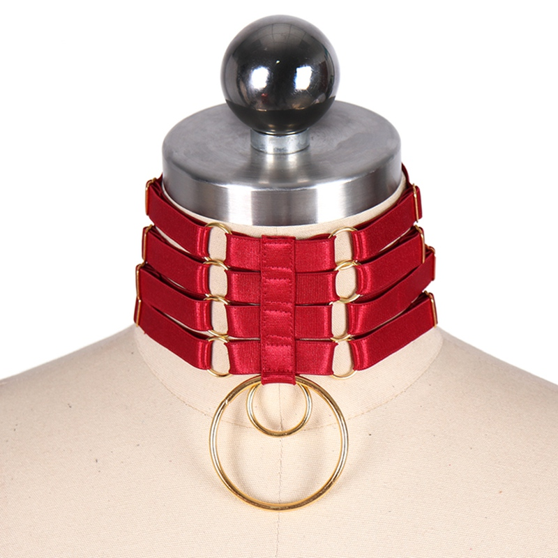 Gothic Punk Style Choker Necklace Pendant Jewelry Women Choker Collar Necklace for Women Jewelry Gift
