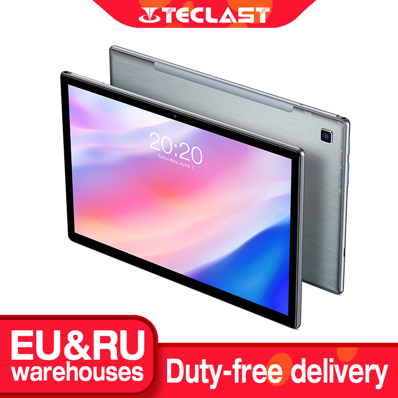 Teclast P20HD планшет на Android 10, восемь ядер, экран 10,1 дюйма, 4 Гб + 64 ГБ