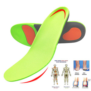 Image 4 - הטוב ביותר קשת רגל אורתופדים נעלי Sole רפידות לנעליים Pad X/O סוג רגל תיקון שטוח רגל קשת תמיכה ספורט נעלי מוסיף