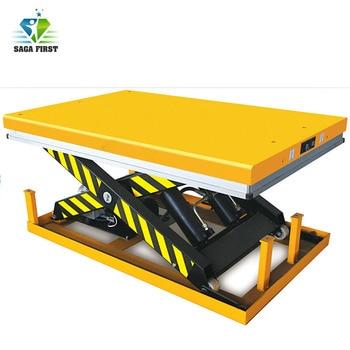 2ton 3000kg Electric Lifting Equipment  Hydraulic Scissor Lift Table