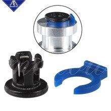 Acoplamento de bowden de 4mm mellow para o metal para o tubo do dissipador de calor de e3d bowden collet para bmg e3d hotend bloco do calefator do dissipador de calor grampos