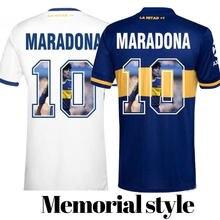 Maradona retro 1986 camisa 86 vintage clássico 1978 1986 memorial maradona 1986 camisa 78 camisa de futebol