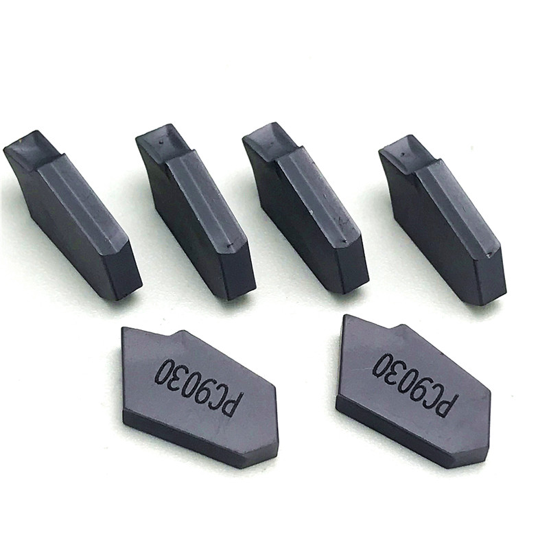 Tungsten Carbide SP200 SP300 SP400 PC9030 NC3020 NC3030 Slotted Carbide Inserts Parting and grooving Tool CVD PVD Lathe Tool in Turning Tool from Tools