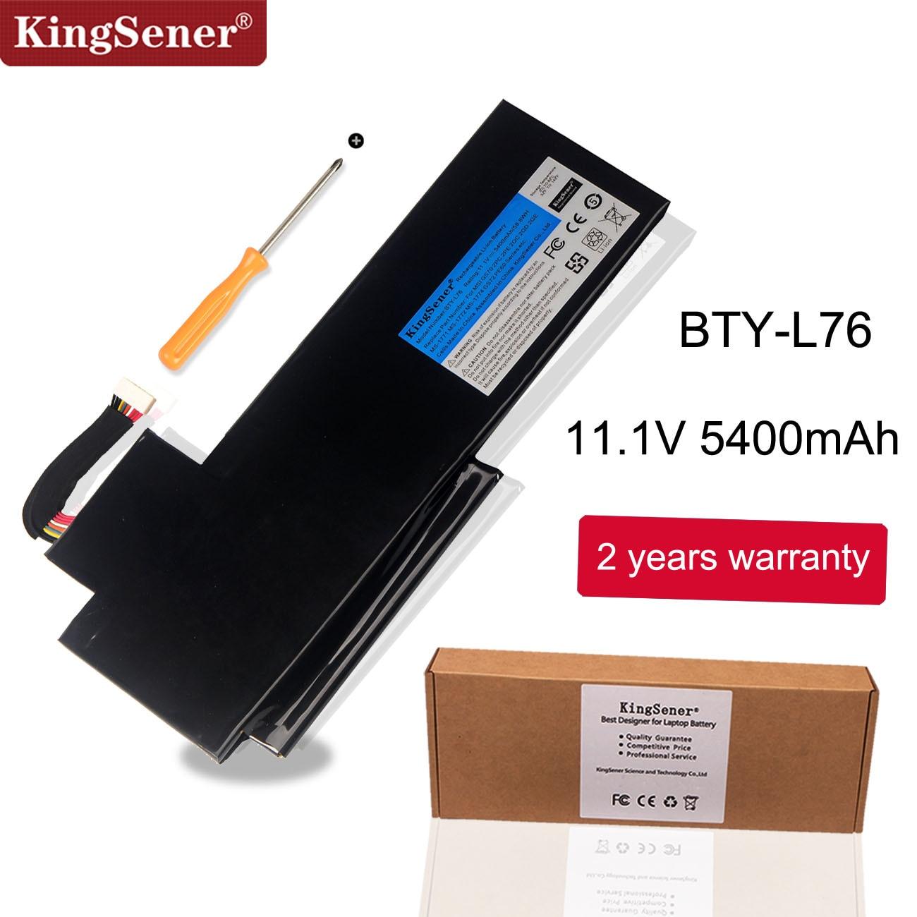 msi ms 7613 - KingSener BTY-L76 Battery For MSI GS70 2OD 2PC 2PE 2QC 2QD 2QE GS72 MS-1771 MS-1772 MS-1773 MS-1774 For MEDION X7613 MD98802
