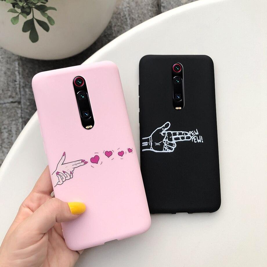 Case For Xiaomi Mi 9T Mi9t Redmi K20 Redmik20 Mi9 T 9 T Pro K20pro K 20 Soft Thin Matte TPU Silicone Phone Back Coque Cover Case