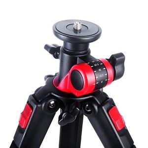 Image 4 - Manbily MPT 284 חצובה מקצועי רב פונקציה אופקי מרכוז צילום משולש סוגר עבור דיגיטלי SLR מצלמות