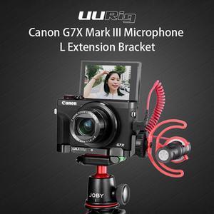 Image 1 - Uurig R016 L Plate Cho Canon G7X Mark III Micro Mở Rộng Phát Hành Nhanh Giá Đỡ Với Giày Lạnh Cầm Tay