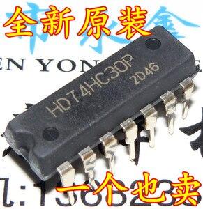 10 шт./лот новый оригинальный 74HC30 HD74HC30P DIP-14 74 серии специальных продаж