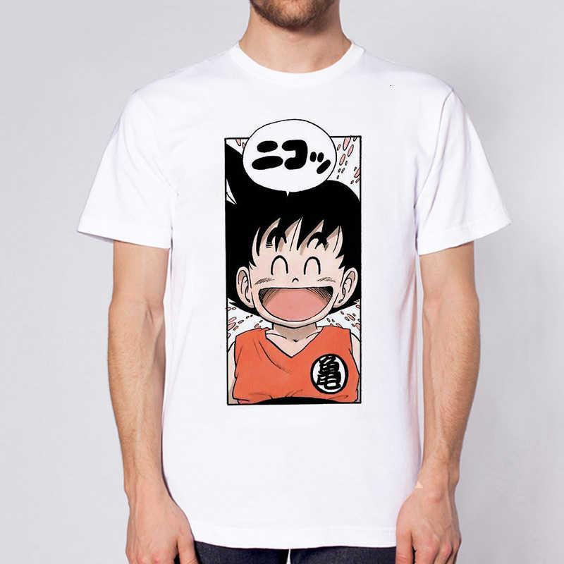 2020 Nieuwste Dragon Ball T-shirt Super Saiyan Dragonball Z Dbz Son Goku Tshirt Mannen Jongens Tops Shirt