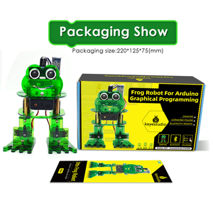 Image 5 - NEW! Keyestudio DIY 4 DOF Robot Kit  Frog Robot for Arduino Nano  Graphical Programming/Support IOS &Android APP Control