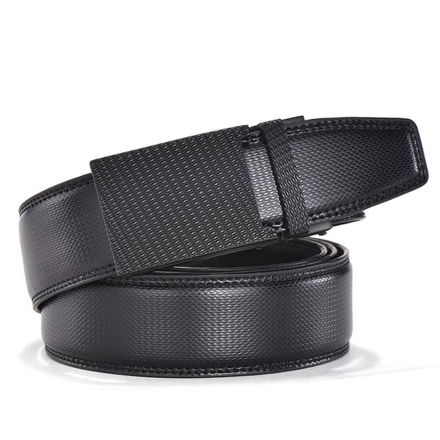 Cinturones de cuero genuino