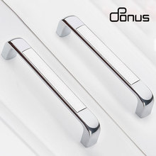 ONUS Modern simple wardrobe door handle American furniture cabinet shoe cabinet European drawer hardware handle 96 128 160mm modern simple cabinet door edge handle wardrobe drawer stain golden hidden furniture handle kitchen cabinet pull