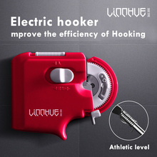 Tied Hook Tool,Hook Automatically Tying, Sub-Line Automatic Multi-Function Device Electric Needle Knotter Fishing Accessory