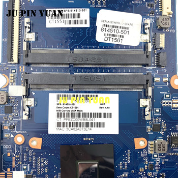 For HP 245 G4 14-AC 14Z-AF Laptop motherboard 814510-001 814510-501 with A8-6410 cpu  All fully Tested 45 days warranty laptop motherboard for hp 6450b 6550b 613294 001 for intel cpu with integrated graphics card 100