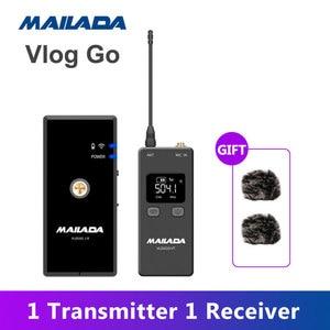 Image 4 - Mailada professionnel UHF système de Microphone sans fil Mini revers casque micro récepteur émetteur pour enseigner la Lecture de la parole