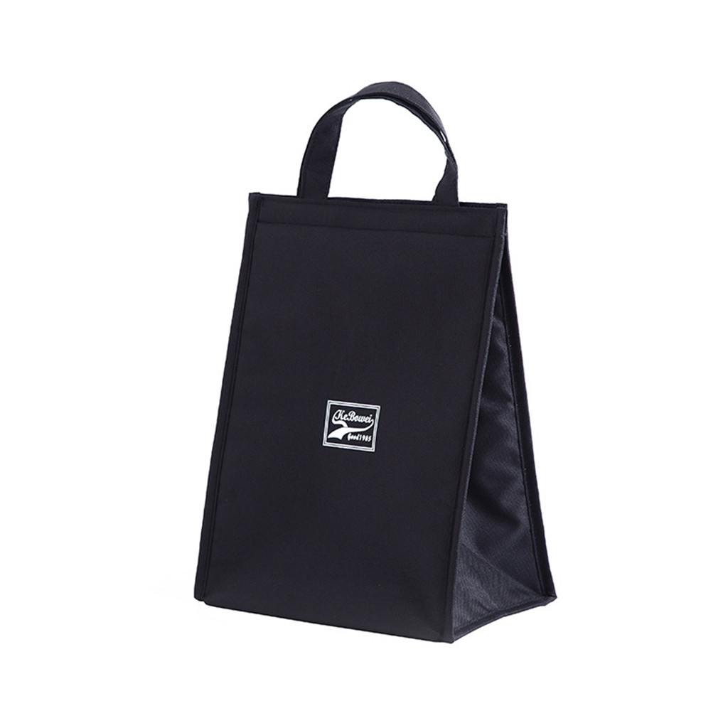 Portable Insulated Lunch Bag Food Box Storage Bags Oxford Cloth Tote For Women Men Kids Food Rice Storage Pouches Lunch Bags