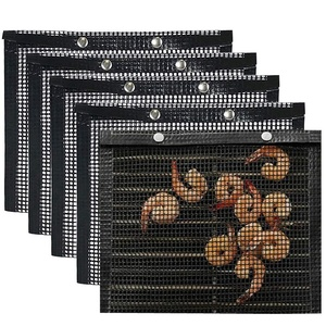 BBQ Grill Mesh Bag Pack of 5,