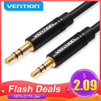 Vention Aux Cable 2.5mm to 3.5mm Audio cable Jack 3.5 to 2.5 male Aux Cable For Car SmartPhone Speaker Headphone Moible Phone