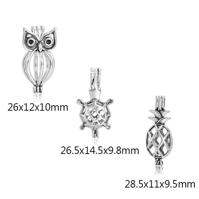 6 шт/компл античное Серебряное украшение в виде коляски дракона