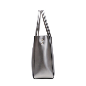 Image 4 - SMILEY SUNSHINE srebrne oryginalne skórzane torebki damskie luksusowe marki duże torebki damskie torebki damskie torebki top rama do torebki 2018