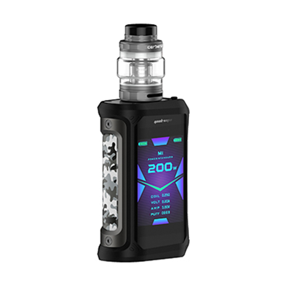 2pcs/set NEW Geekvape Aegis X 200W Vape Kit w/ 2.4 inch OLED Screen & AS2.0 Chipset E cig Box Mod Kit Vs Aegis Solo/ Legend/ GEN - 5