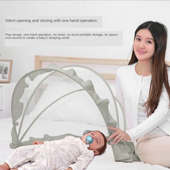 Baby Crib Netting Baby Mosquito Net Foldable Portable Anti Mosquito Newborn Sleep Bed Travel Bed Netting Play Tent Children baby foldable crib travel portable newborn bed sleeping basket bassinet multifunctional portable baby crib with mosquito netting