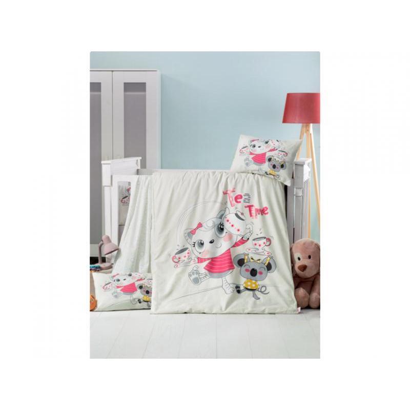 Bedding set children's cottonbox, Victoria baby, Tea Time cover set victoria
