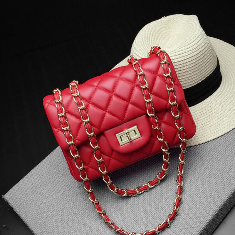 Small Bags For Women White Pink Bag Mini Lingge Chain Bags Side Bags Small For Ladies Black Yellow Caviar Bag