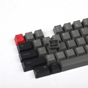 Image 2 - IDOBAO شحن مجاني مطبوعة فارغة OEM PBT كاي كابس الشخصي الكرز الشخصي ل HHKB تخطيط MX مفاتيح لوحة المفاتيح الميكانيكية