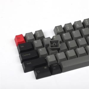 Image 2 - IDOBAO livraison gratuite haut imprimé blanc OEM PBT Keycaps profil cerise profil pour HHKB disposition MX commutateurs clavier mécanique