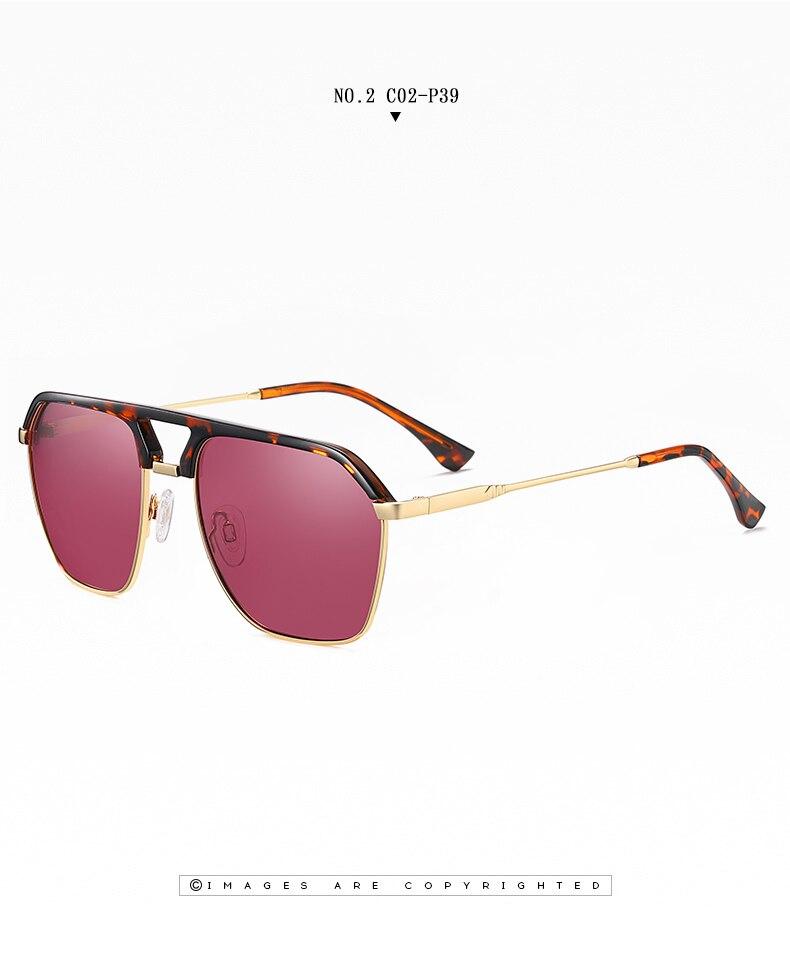 Classic Pilot Polarized Sunglasses Men Coating Mirror Sport Retro Sun Glasses Men Ride Travel Driving Fishing Eyewear Male UV400 (13)