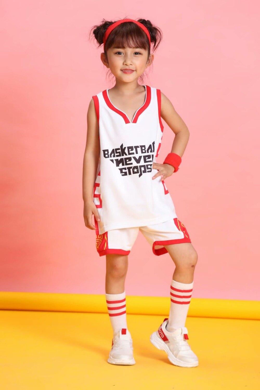 e feminino crianças roupas de basquete personalizado personalizado
