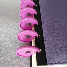 20шт 35 мм цвет переплета тетради поставки кольцо пряжки ручка может вращаться на 360 градусов офисные и школьные поделки
