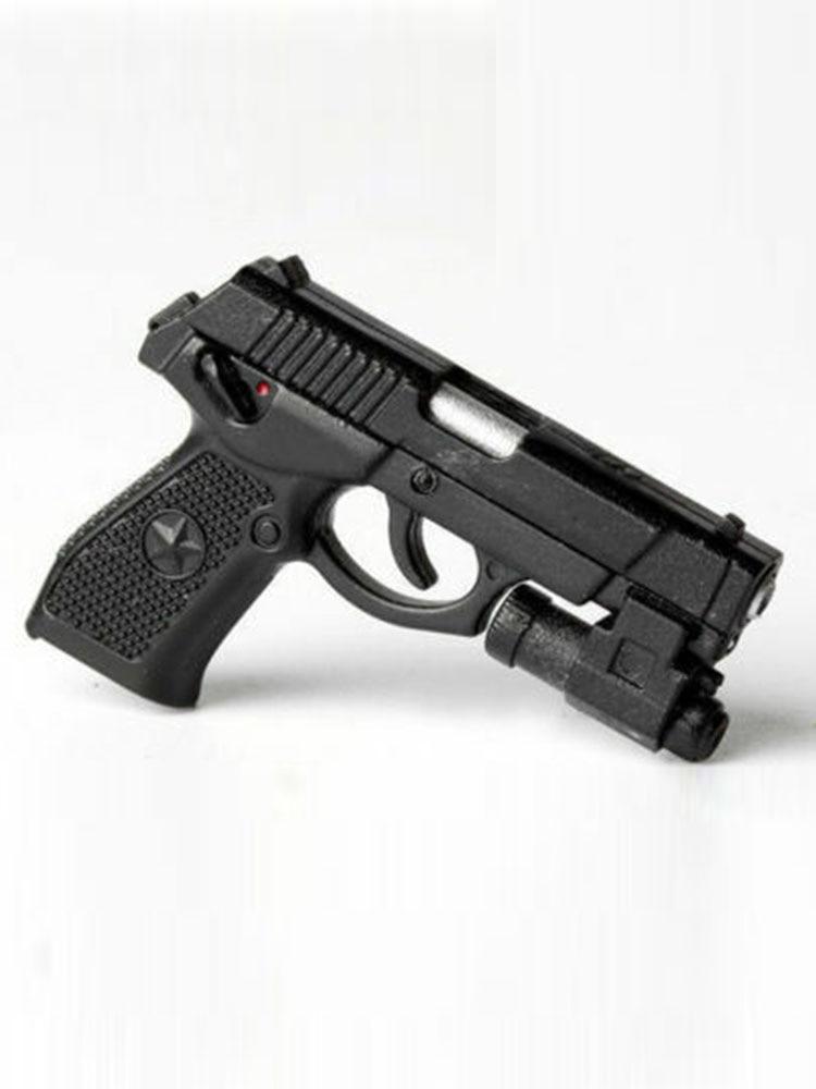 """ZYTOYS X26 Taser Black 1//6 Pistol Assembled Model Fit 12/"""" Action Figure gunToys"""