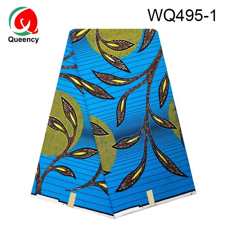 WQ491 2020 Fabric Wax 6yards Hot Nigerian Ankara Print tissus 100% cotton ring design Textile for dress