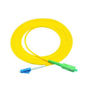 Image 5 - Free shipping!10Pcs SC LC 3M Simplex Single Mode Fiber Optic Patch Cord SC/APC LC/UPC 3M 2.0mm 3.0mm FTTH Fiber Patch Cable