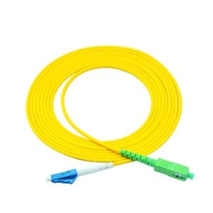 Image 5 - Frete grátis! 10 pçs SC LC 3m simples único modo de fibra óptica cabo remendo sc/APC LC/upc 3m 2.0mm 3.0mm ftth fibra cabo remendo