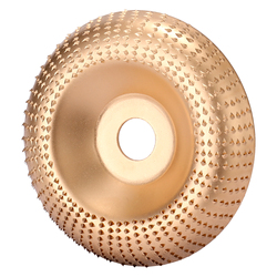 Wood Angle Grinding Wheel Sanding Carving Rotary Tool Abrasive Disc 16mm Bore Shaping For Angle Grinder Tungsten Carbide Coating